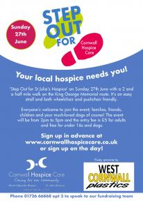 Step Out for Cornwall Hospice